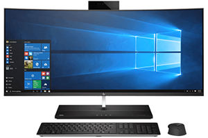 HP EliteOne 1000 G2 34-in Curved