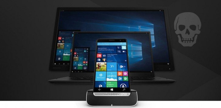 HP Elite x3 ซึ่งขับเคลื่อนโดย Windows จะถูกยกเลิกในเดือนพฤศจิกายน