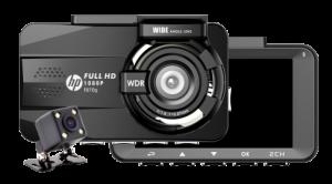 DASH CAM (กล้องติดรถยนต์) HP F870G (BLACK)