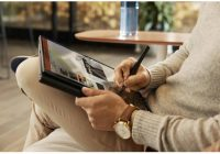 HP Elite Folio โน้ตบุ๊กกึ่งแท็บเล็ต ซีพียู Snapdragon 8cx พลัง ARM แบตยาวนาน