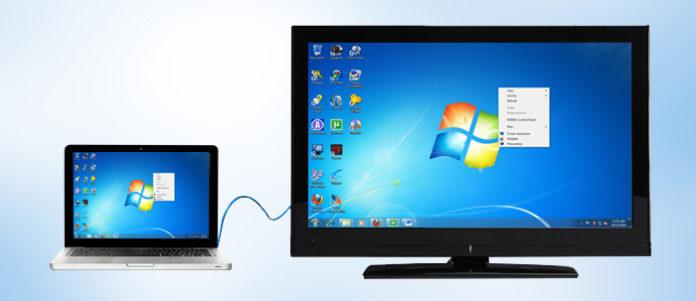 วิธีง่ายๆ เสกภาพบนคอมพิวเตอร์ สู่จอทีวี